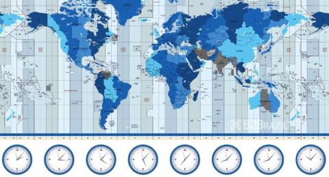 O fuso horário e o comércio internacional