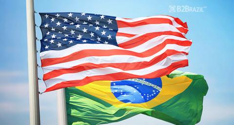 Comércio bilateral EUA e Brasil