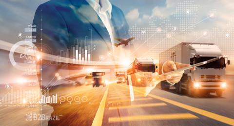 Digitalização de processos na logística mundial